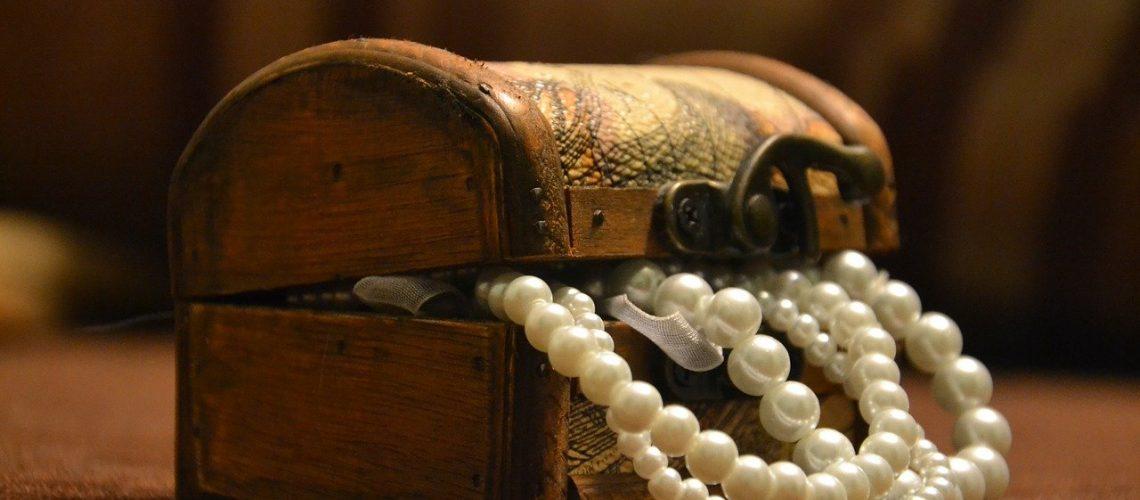 Une boîte à bijoux tendance